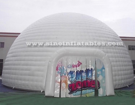 ... white giant inflatable igloo dome tent ... & 50 people 10 mts white giant inflatable igloo dome tent with ...