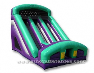 kids double lane inflatable dry slide