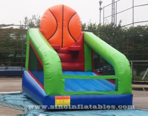 inflatable basketball shooting sport