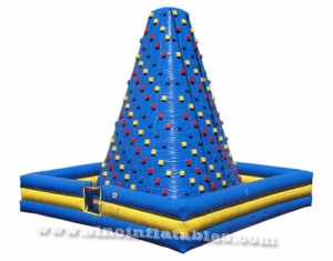 inflatable tower climbing wall