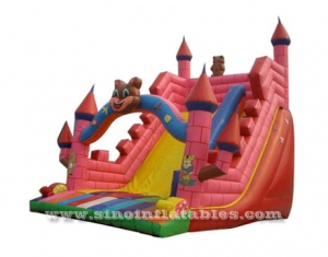 kids Comic n Animation inflatable slide castle