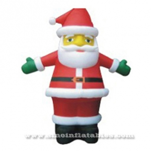 Lovely inflatable Santa Claus