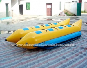 8 persons double row inflatable banana boat