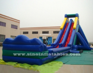 30m long supper hippo inflatable water slide