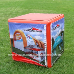 advertising inflatable cubic box