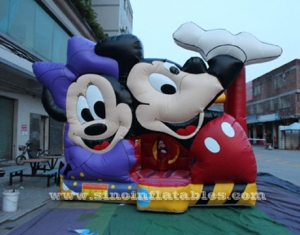 kids mickey mouse bouncy castle