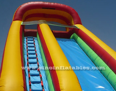 New design outdoor kids commercial inflatable water slide