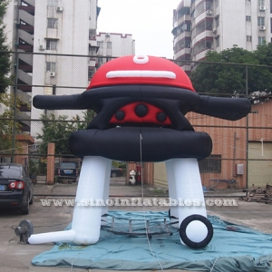 giant advertising BBQ inflatable oven