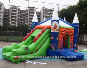 Crocodile inflatable combo game