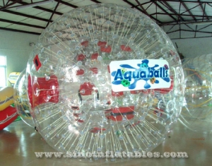 transparent inflatable human hamster ball