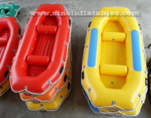 drifting N fishing inflatable raft