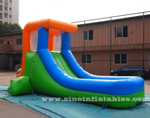 Kids mini inflatable water slide