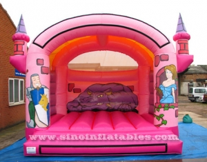 children prince and princess bouncy castle