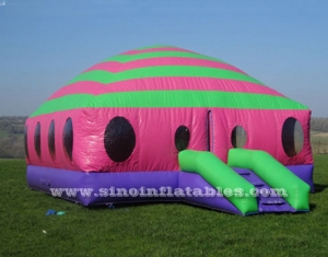kids N adults inflatable moonwalk bouncing castle