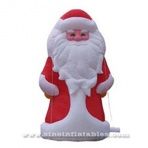 Giant outdoor advertising inflatable Santa Claus