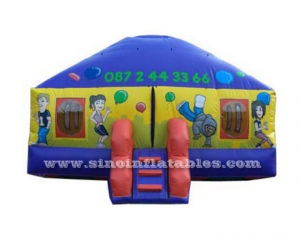 disco party inflatable moonwalk bouncing castle