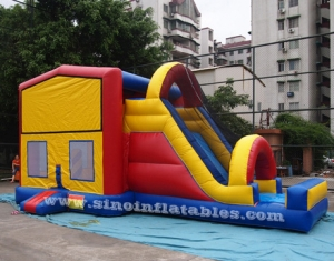 Outdoor kids commercial inflatable combo game