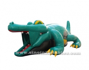 crocodile inflatable tunnel