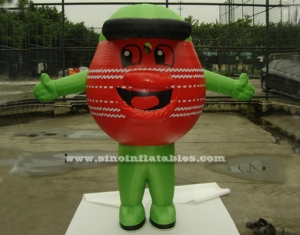 commercial outdoor golf ball inflatable costume
