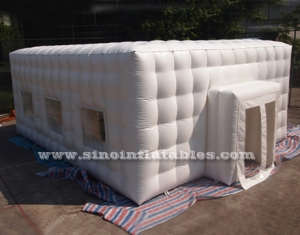 multifunctional outdoor inflatable cubic tent