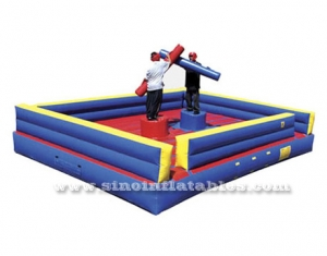 inflatable gladiator jousting arena