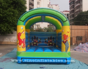 Let's party kids inflatable bouncy castle