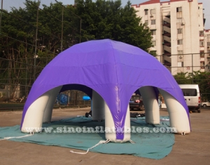 anytime fitness adverting inflatable tent