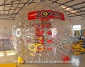 big snow rolling inflatable zorb ball