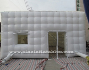 21x30 ft outdoor party or events white inflatable cube tent