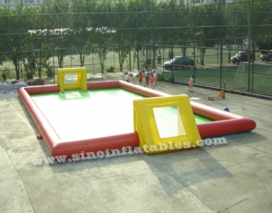 giant inflatable football field