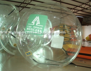 transparent inflatable water walking ball
