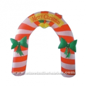Merry Christmas advertising inflatable arch