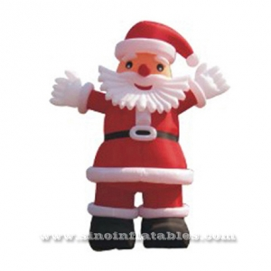 Newest 3m high outdoor inflatable Santa Claus