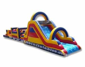 Newest outdoor commercial inflatable obstacle course