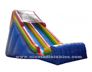 China inflatable dry slide for kids n adults
