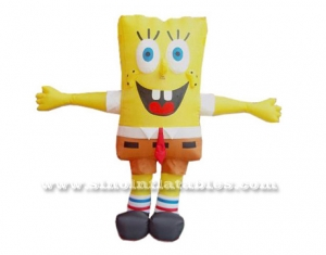 inflatable Sponge bob moving cartoon