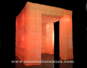 parties or events led inflatable photo booth enclosure