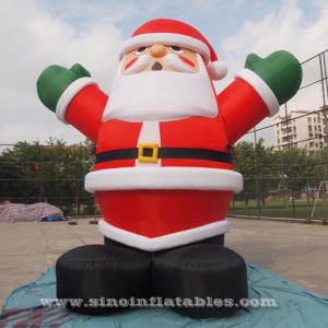 5 meters high giant inflatable santa claus