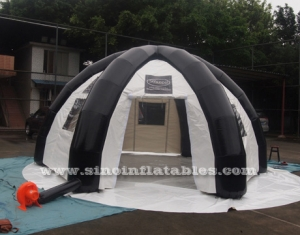outdoor enclosed travel inflatable tent