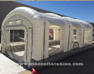 giant inflatable spray booth