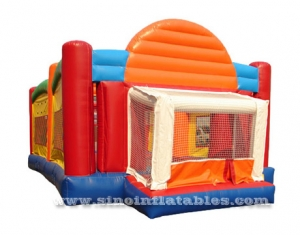 4 in 1 giant adult multi-use inflatable games arena