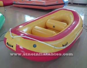 4 persons inflatable river raft with 2 beams