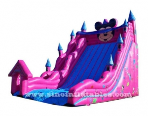 mickey mouse inflatable slide for children