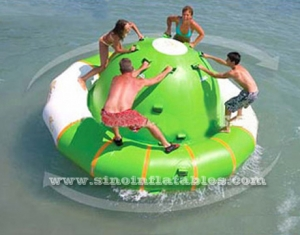 4 person children N adults inflatable water spinner