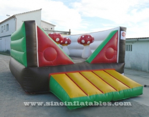indoor kids mushroom bouncy castle
