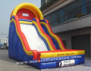 giant wave inflatable slide