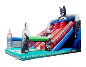 Super Hero Batman inflatable slide