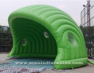 display promotion green inflatable ten