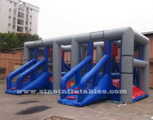kids N adults balance inflatable obstacle