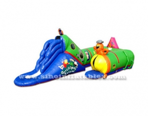 animal world inflatable tunnel